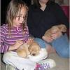 Newborn Brody May 2005 Jenna and Kim with Puppies Jenna has Brody