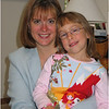 Jenna Bessette and Kim September 13 2004 First Day of Kindergarten