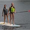 Adirondacks Chateaugay Lake July 2013 Kailee Vacarino and Jenna Bessette Paddleboard 2