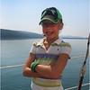 Watkins Glenn July 2007 Seneca Lake Jenna Posing on Sail Boat