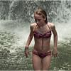Puerto Rico February 2012 Jenna La Mina Falls in Yunque