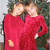 Jenna Bessette and Caelyn Walker Christmas 2004
