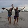 Avalon NJ August 2015 Jenna and Maddy on the Beach 1