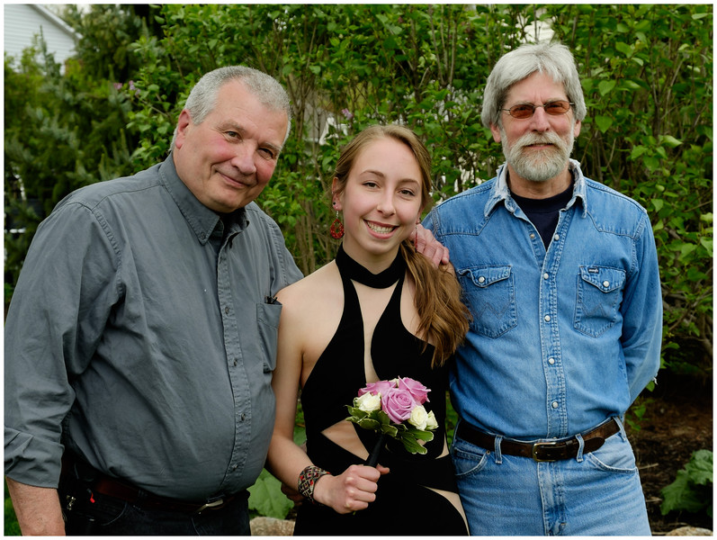 Laurin, Jenna, Mark, Prom 2016