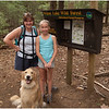 Adirondacks Wilcox Lake Trailhead Kim, Jenna and Brody September 2010