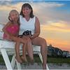 Jenna Bessette & Kim 5 Avalon Beach August 2005