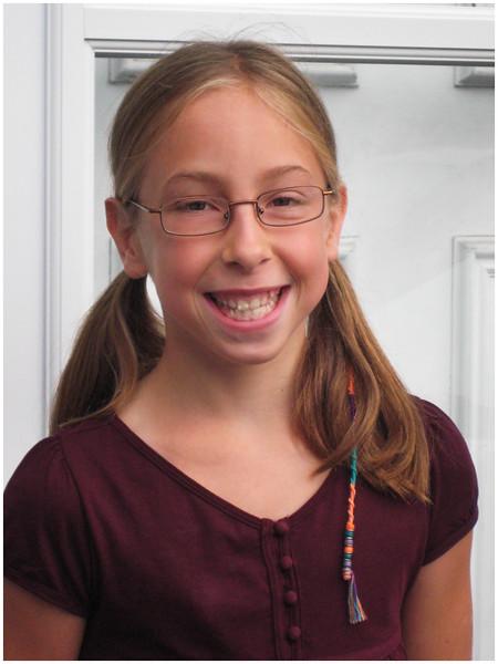 Delmar NY Jenna 1st Day 5th Grade 1