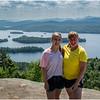 Adirondacks Castle Rock Hike July 2015 Jenna KIm Blue Mt Lake from Summit
