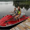 Adirondacks Chateaugay Lake July 2013 Kailee Vacarino and Jenna Bessette Jet Ski