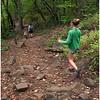 Adirondacks Hadley Mountain Jenna and Kim Descending September 2010