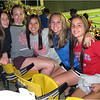 Montreal QC Olympic Stadium  Carly Nadler, Jenna Bessette, Gracie Mailey, Olivia Slingerland and Melissa Haas June 2015