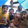 Jenna Bessette and Matt Kendrick, Josh, Caelyn Walker and April, August 2004