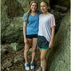Adirondacks Castle Rock Hike July 2015 Maddy Jenna Cave