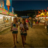 Altamont NY Altamont Fair Midway At Night Jenna and Emily 2012