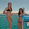 Puerto Rico February 2012 Jenna and Callie on Tour Boat Caya Icacos