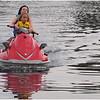 Adirondacks Chateagay Lake Snug harbor Camp Jenna Jessie Sprague on Seadoo 2 July 2006