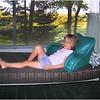 Jenna on Glider July 2004 Chateaugay Lake Helen Camp