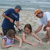 Avalon NJ July 2007 Kerby and Mark Bury Maddy and Jenna 2