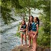 Adirondacks Lake George 2011 Olivia and Callie Noonan, Jenna Bessette