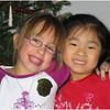 Jenna Bessette and Jemma Dickson Christmas 2004