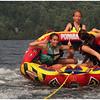 Adirondacks Blue Mountain Lake Nicole, Jenna and JessieTubing Big Mabel 4 July 2011