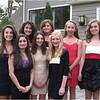 Formal Callie Noonan, Serena Cheruvu, Gabby Miranda, Kathryn Sancillio, Catherine Jennings, Aine Tobin, Jenna Bessette, Cassidy Keppler March 2012