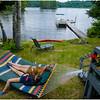 LT Chateaugay Lake NY Sprague Camp Jenna Kailie Vaccarino Hammock 4 July 2015