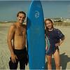 Avalon NJ August 2015 Jenna Surfing Lesson with Brett 13