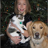 Jenna and Pets December 2007