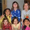 Jennas 8th Birthday Party March 2007 Top L-R Maho, Sammie Stern and Jenna   Bottom L-R Grace Wilton, Emily Crandall and Jemma Dickson