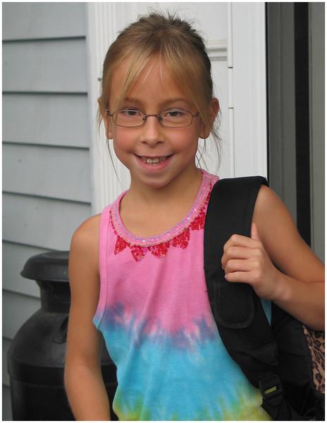 2006 2nd Grade 1st day school 1