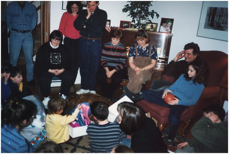 ADelmar NY Christmas Jenna Presents 2 December 2001