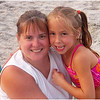 Jenna Bessette & Kim Avalon Beach August 2005
