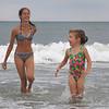 Jenna and Elena Murray Avalon Beach 2 July 15 2004
