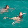 Puerto Rico February 2012 Jenna and Callie on Tour Boat Jump 3 Caya Icacos