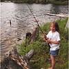 Forked Lake June 2006  Jenna Fishing 4