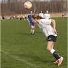 Jenna Heads the Ball Vs  Saratoga April 28 2013