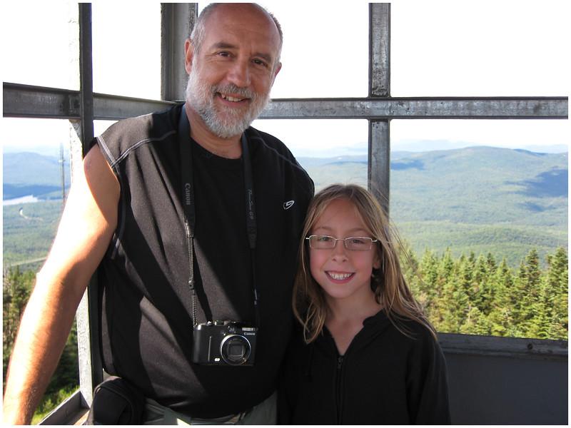 Many faces of Jenna 2008 (119) Adirondacks August Blue Mountain