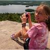 Adirondacks Blue Mountain Lake Castle Rock Jenna with Camera July 2009