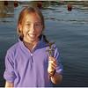 Adirondacks Blue Mountain Lake Prospect Point Jenna with Twig July 2009