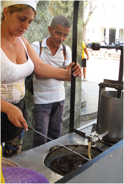 Kim Cuba Churro Vendor 1 March 2017