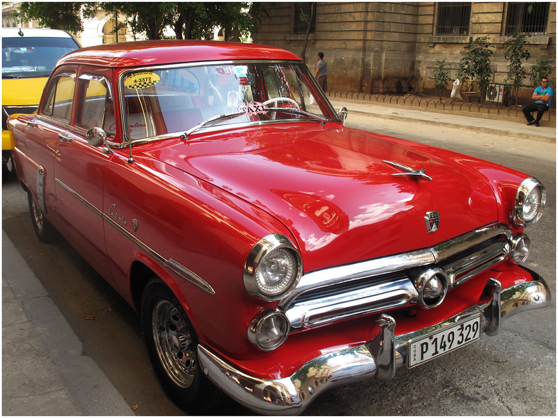 Kim Cuba Old Car 5 March 2017