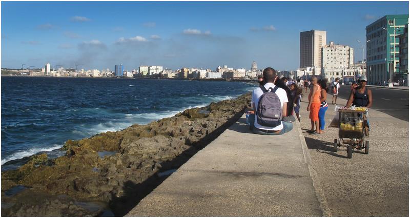 Kim Cuba El Malecon 4 March 2017
