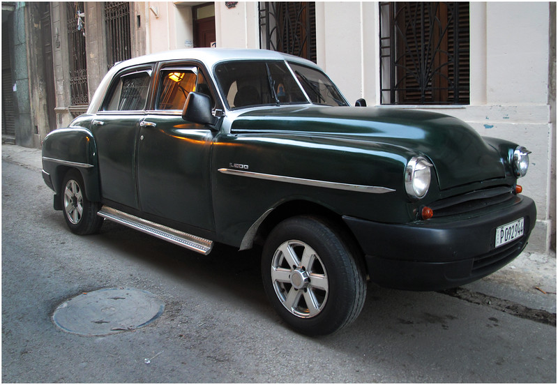 Kim Cuba Old Car 1 March 2017