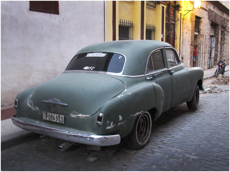 Kim Cuba Old Car 3 March 2017