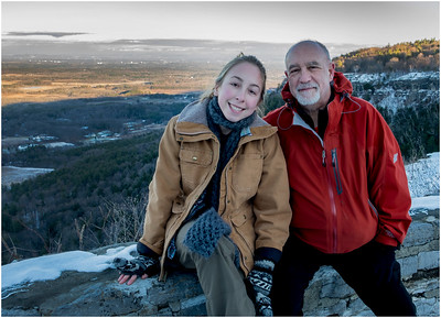 Thatcher Park NY Overlook View NE Jenna and Tom January 2017