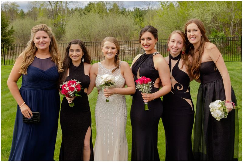 Catherine, Serena, Hayley, Callie, Jenna and Delaney 1 Prom 2016