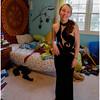 Jenna in Dress in Room Prom 2016