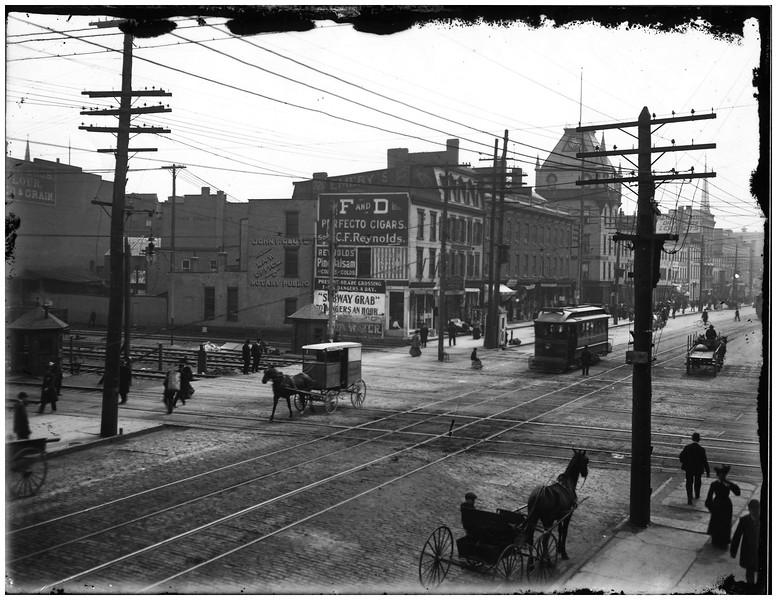 Schenectady NY State Street circa 1890