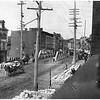 Schenectady NY State Street Canal Bridge circa 1890